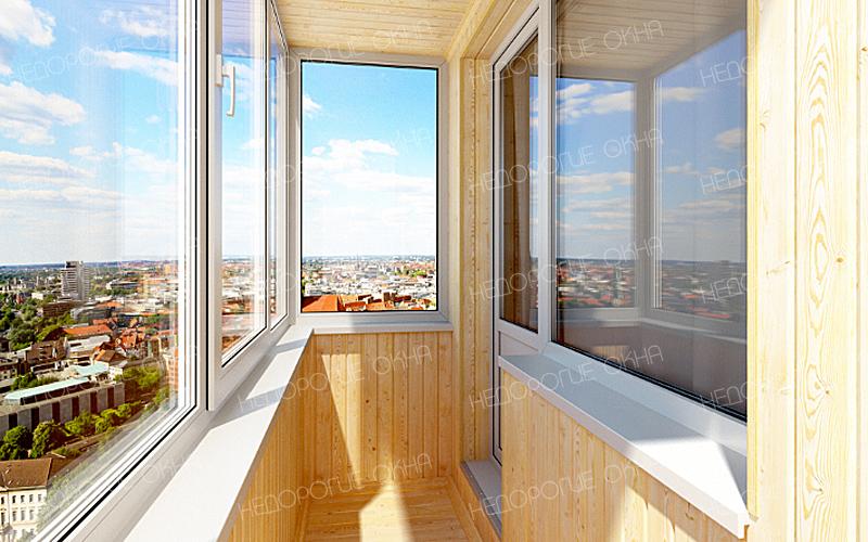 Отделка балконов и лоджий недорого в москве.